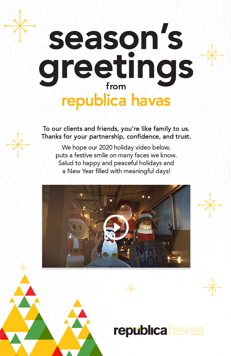Season's Greeting from Republica Havas